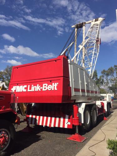grua link belt  hc-218a  capacidad 110 toneladas
