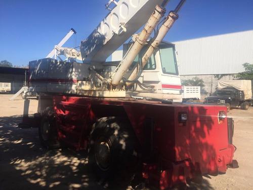 grua link belt hsp25 de 25 toneladas excelente cambio