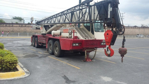 grua linkbelt htc860s 8x4x4 60 tons pluma 32 mts jiba 10 mts