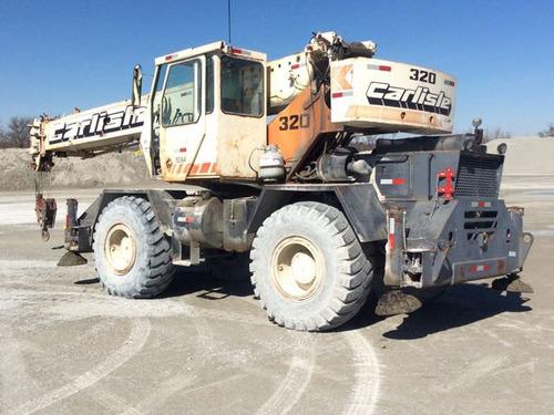 grua lorain lrt-275d 27.5 toneladas 104 pies con jib