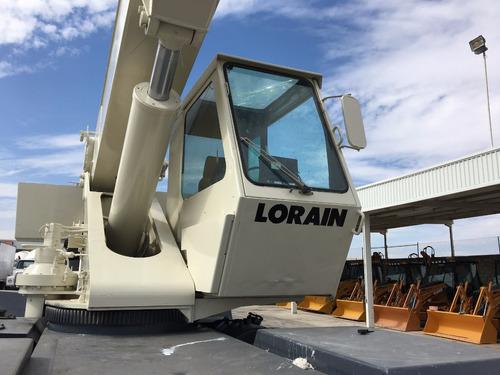 grua lorain terex lrt230 mod. 2000 para 30 toneladas