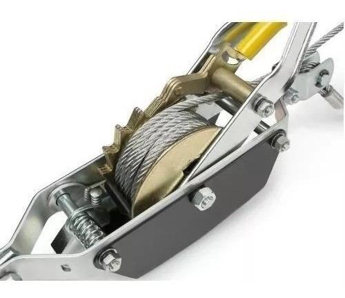 grúa manual wincha tecle palanca 2 tonelada, fácil de transp