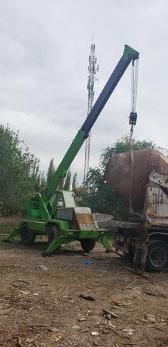 grua merlo 10 ton