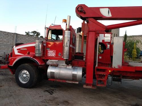 grúa national 30 toneladas, camión marca kenworth mod. 97