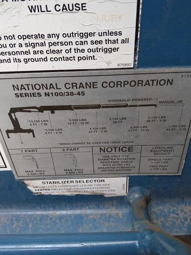 grúa national  articulada de 6.5 toneladas