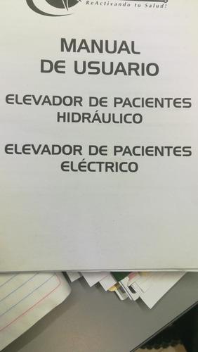 grua o elevador para pacientes o enfermos!