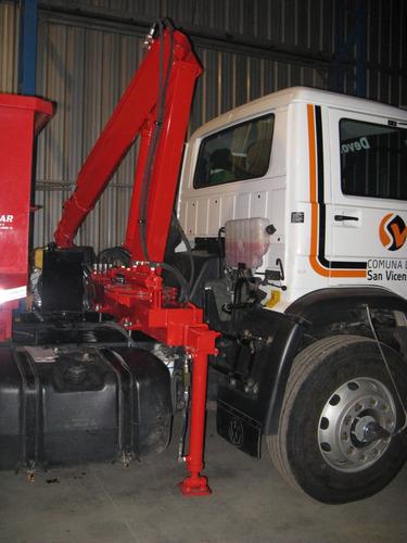grua para camion camioneta acoplado