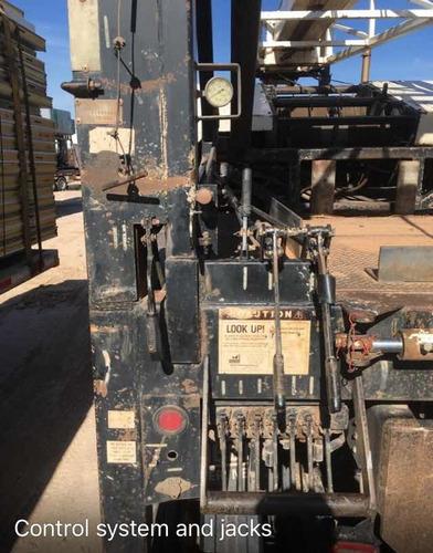 grua para elevacion de bombas en pozo de agua smeal r12