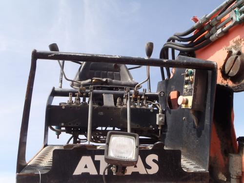 grua para montarla en camion  marca atlas para chatarra