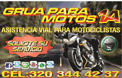 grua para motos 1a 24 horas 320 344 4237