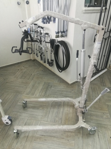 grua para pacientes con arnes tipo cuna incluido hasta 180kg
