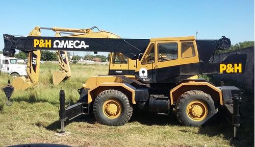 grua p&h omega 20 toneladas mod. 1984