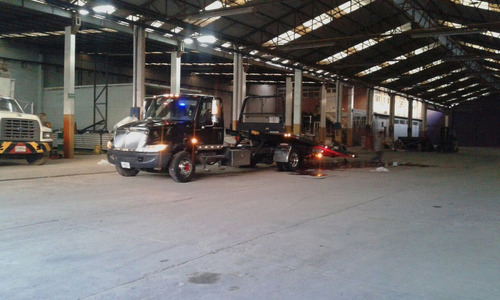 grúa plataforma deslizable de 6 m international 4300 dt466