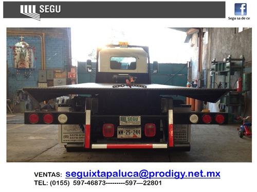 grúa: plataforma o rampa   carrocerías
