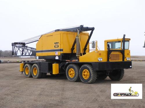 grua sobre camion american 62 toneladas cummins