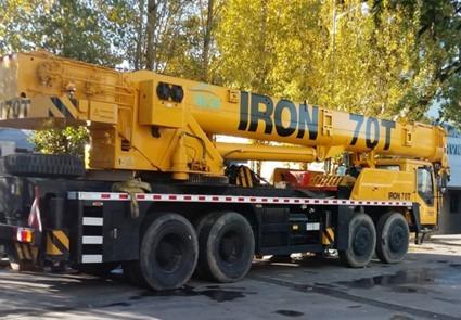 grúa sobre camión iron xcmg qy70k - 70 toneladas