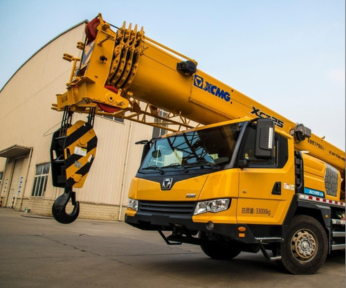 grúa sobre camión   xcmg xct25l5 (2021)