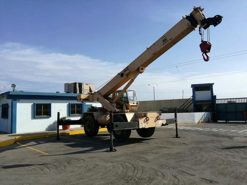 grua telescopica 22 ton para izamiento de carga