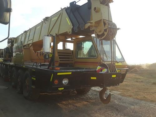 grúa telescópica grove tm875 modelo 1980 cap, 80 ton
