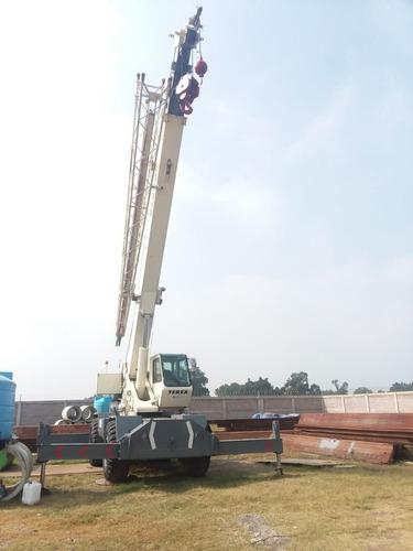 grúa telescópica terex 30 toneladas mod 98