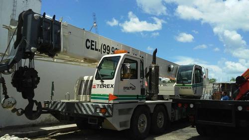 grua telescopica terex 60 toneladas t560