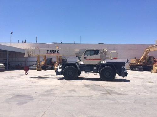 grua telescopica terex rt235 año 2001 para 35 ton