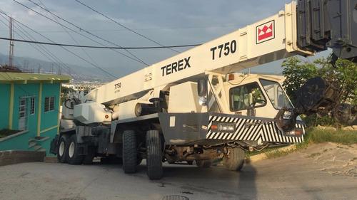 grua terex 75 ton ,año 1998 bien cuidada trabajando