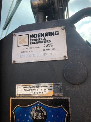 grua terex lorain lrt230 mod 1998 de 30 toneladas como nueva