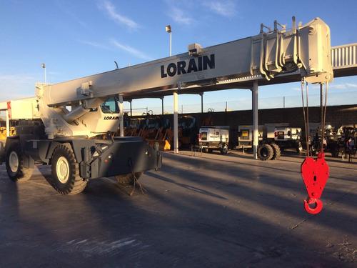 grua terex lorain lrt230 mod 2000 de 30 toneladas como nueva
