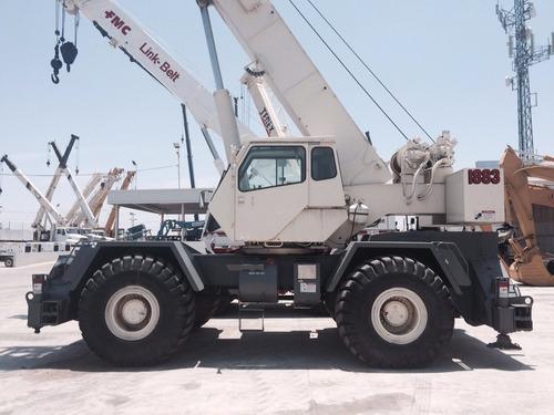 grua terex lorain lrt450 mod 2002 de 50 toneladas como nueva