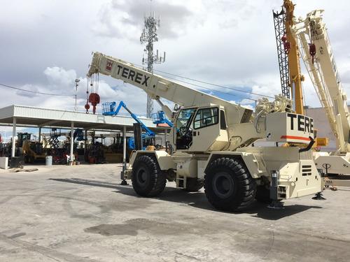 grua terex lrt450 mod 2002 de 50 toneladas todo terreno