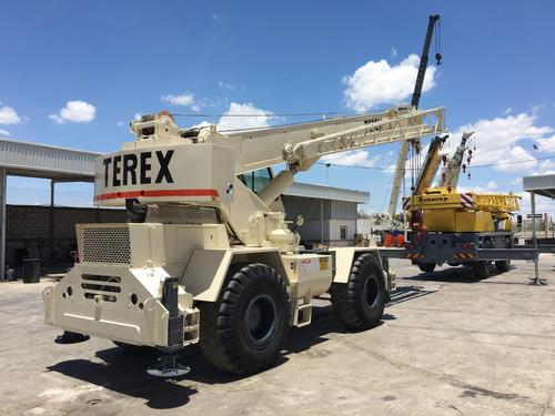 grua terex rt230 mod. 2001 para 30 toneladas