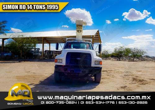 grua titan 14 toneladas ford - simon ro 1995