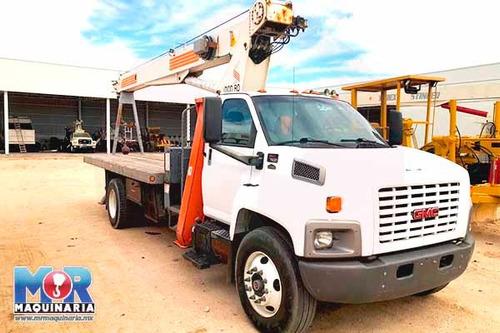 grua titan 15 tons rostinger, camion gmc 2005, gruas, pipas
