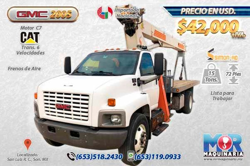 grua titan 15 tons rostinger-gmc 2005 a la venta, nacionales