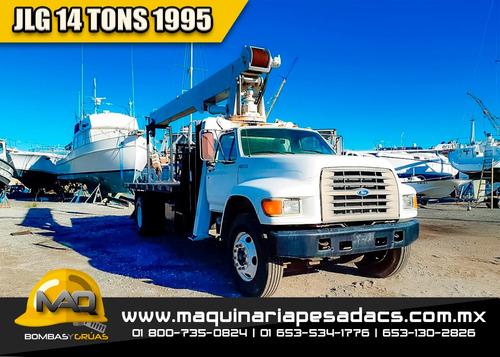 grua titan 1995  ford - jlg 14 tons