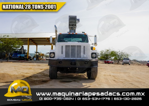 grua titan 2001 international - national 28 tons