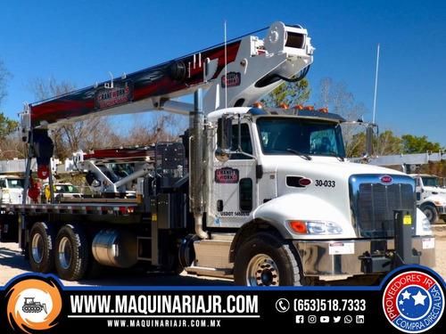 grua titan 2016 peterbilt 30 ton, gruas, maquinaria