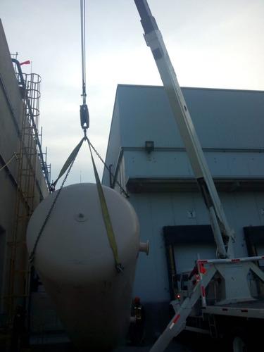 grúa titan de 17 ton