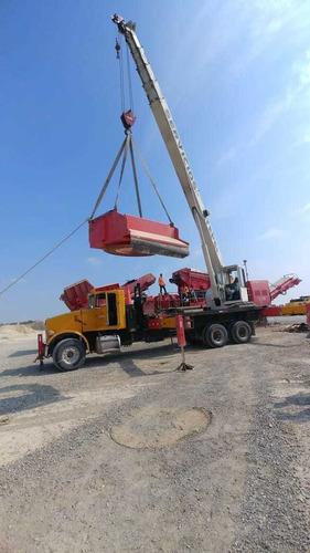 grúa titan de 35 ton