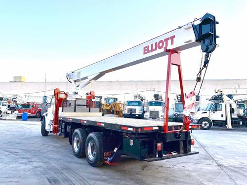 grua titan elliott de 18 ton sobre camion sterling 2007