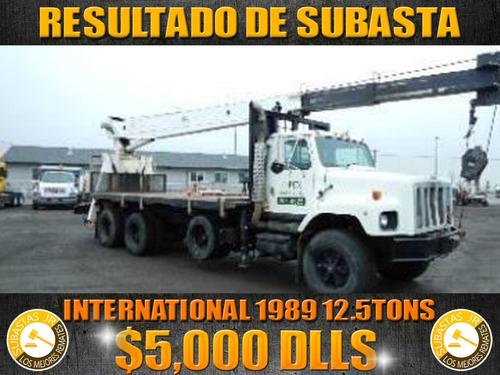 grua titan international 1998 10 tons, gruas titan, gruas