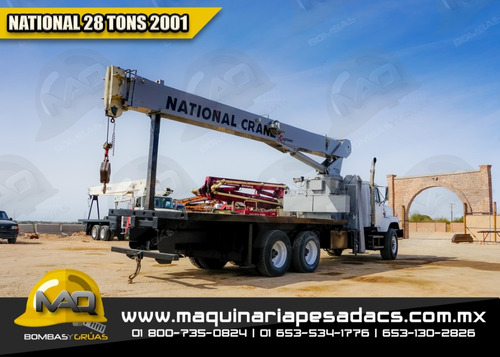 grua titan international -  2001 national 28 tons