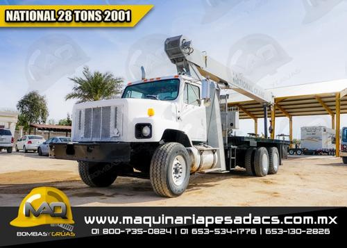grua titan  international - 2001 national 28 tons