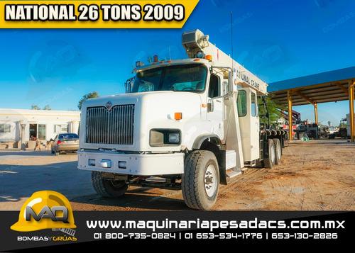 grua titan international 2009  - 26 tons national