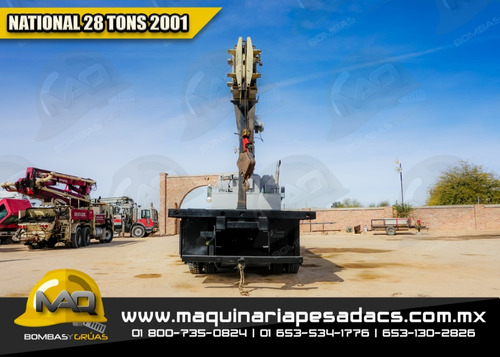 grua titan international - 28 tons 2001 national