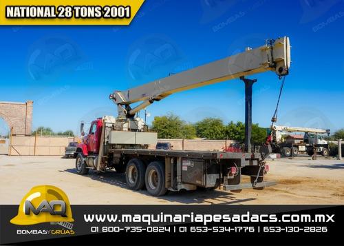 grua titan  international - national 2001 28 tons