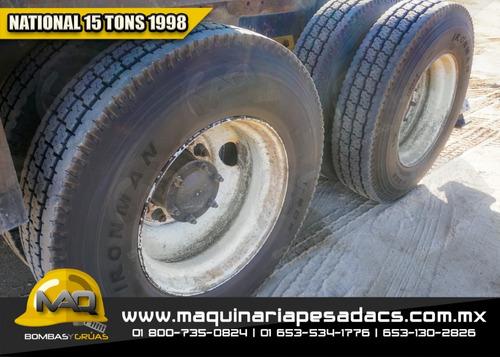 grua titan mack - national 15 tons 1998