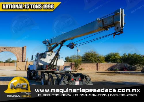 grua titan mack - national 1998 15 tons