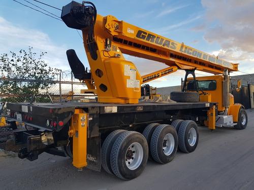 grúa titan marca altec 38 toneladas modelo 2008
